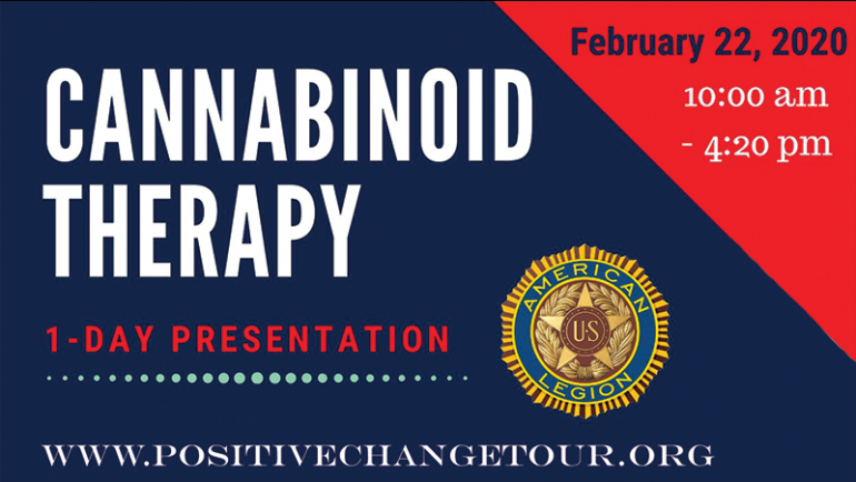 Positive Change Tour Presentation – Stanwood WA  American Legion Post 92